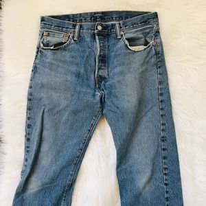 Vintage 90s Levi's 501 Button Fly Jeans